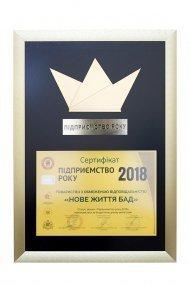 Достижения компании за 2018 год
