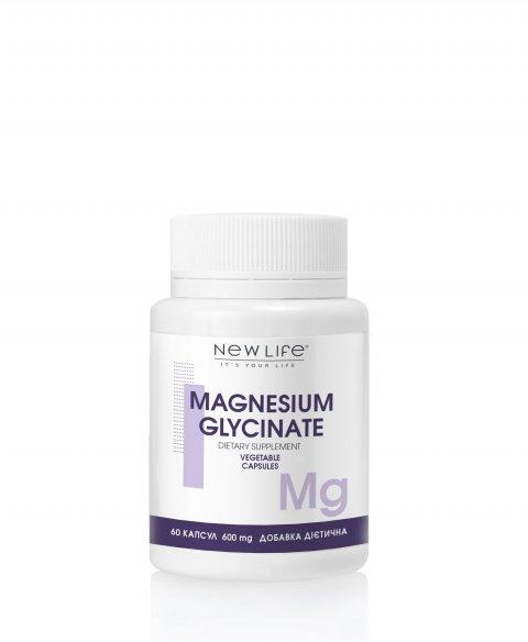 MAGNESIUM GLYCINATE  60  VEGETABLE CAPSULES/JAR