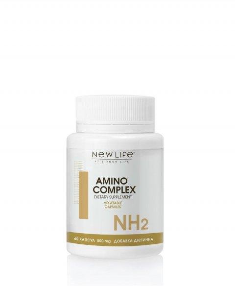 AMINO COMPLEX  60 VEGETABLE CAPSULES/JAR