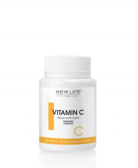 VITAMIN C  60  VEGETABLE CAPSULES/JAR