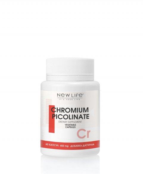 CHROMIUM PICOLINATE  60  VEGETABLE CAPSULES/JAR